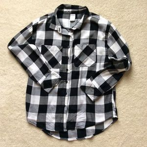 Girls Flannel Shirt Size 10/12